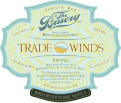 Product - Bruery Trade Winds Tripel