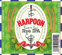 Product - Harpoon Rich & Dan's Rye IPA