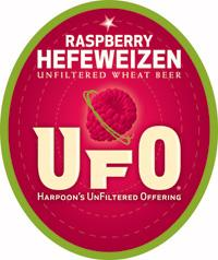 Product - Harpoon UFO Raspberry Hefeweizen label