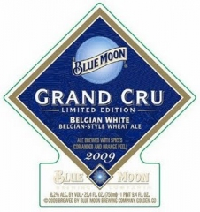 Product - Blue Moon Grand Cru