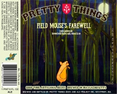 Product - Pretty Things Field Mouse's Farewell