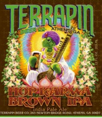 Product - Terrapin Hop Karma Brown IPA