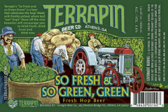 Product - Terrapin So Fresh and So Green, Green
