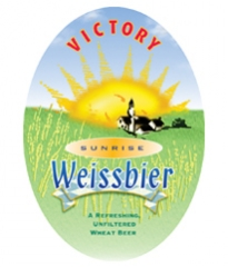 Product - Victory Sunrise Weissbier