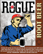 Product - Rogue Root Beer label
