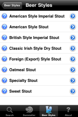 Screenshot - Beer Styles 3