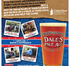 Union Beer Distributors and Oskar Blues Team Up for Charity