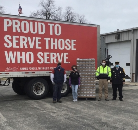 Canned Water Donation Delivery